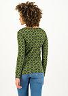 Longsleeve my cosy valentine, wood hood circle, Shirts, Green