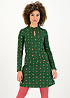 Sweat Dress pollys power, folk stich, Dresses, Green