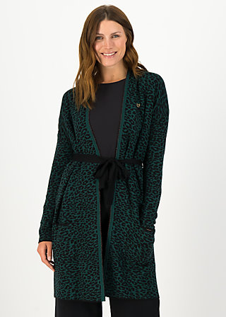 rendezvous with myself coat, teal leo, Jumpers & lightweight Jackets, Green