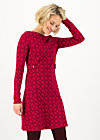 Kleid sallys tulip sixties, cut and sew circle, Kleider, Rot