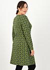 Dress sallys tulip sixties, wood hood circle, Dresses, Green