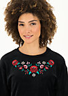 samtpfoten sweater, black eyeshadow, Jumpers & Hoodies & Sweater & Knitted Jumpers, Black