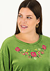 Pullover samtpfoten, yarn green, Pullover & Sweatshirts, Grün