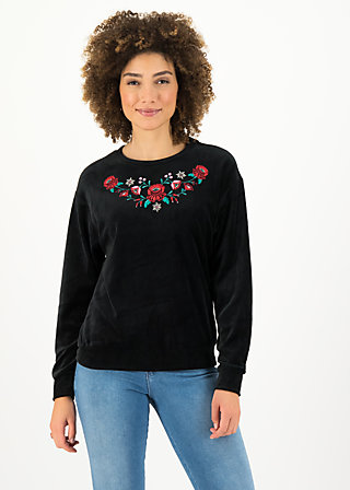 Jumper samtpfoten, black eyeshadow, Jumpers & Sweaters, Black