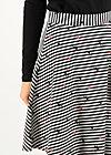 supercalifragil skirt, spin the stripes, Röcke, Schwarz