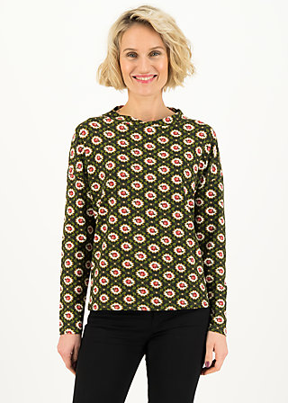 Longsleeve tailorlove turtle, blast from the past, Shirts, Braun