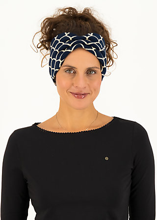 Haarband wild knot, storm shell, Accessoires, Blau