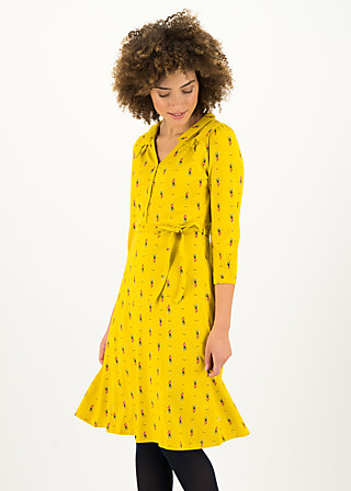Jersey Dress wuthering heigths, après ski, Dresses, Yellow