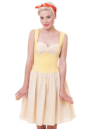 conny s dinner glimmer dress, lemon drop, Kleider, Grün