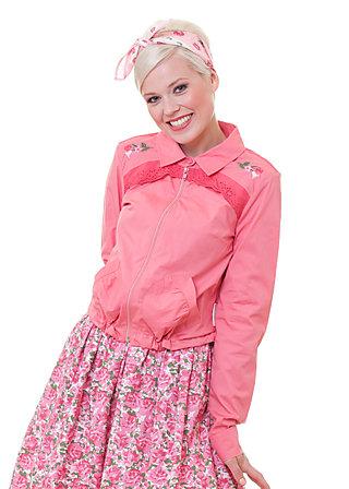 lucky star blouson, pink beauty, Jacken, Grün