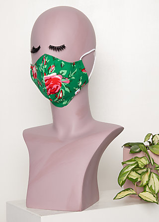 community mask (1 pcs), springtime soul, Green
