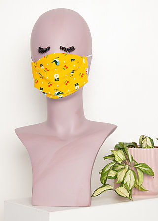 community mask (2 pcs), healing yellow, Yellow