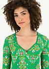 Longsleeve criss cross heart, carnival carousel, Shirts, Green