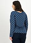 Longsleeve easy sailorette, lotus sutra, Shirts, Blau