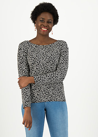 Longsleeve easy sailorette, easy peasy, Shirts, Black