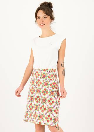 Sommerrock frischluft, spinning around, Röcke, Weiß