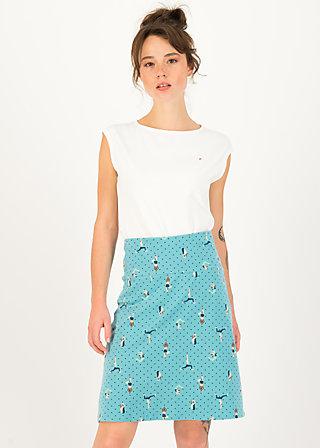 Summer Skirt frischluft, yoga flowgirls, Skirts, Blue