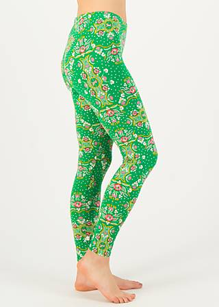 Leggings froelikhopsing, carnival carousel, Leggings, Green
