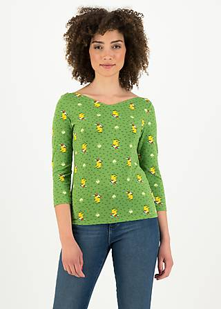 Jersey Shirt happy swallowneck, yellow wellys, Shirts, Grün