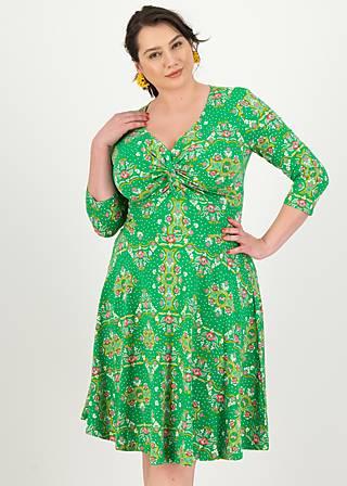 Sommerkleid hot knot  3/4 arm, carnival carousel, Kleider, Grün