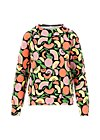 Sweatshirt how lovely, smoothie fruits, Jumpers & Sweaters, Black