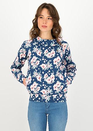 Sweatshirt how lovely, bhumi blossom , Pullover & Sweatshirts, Blau