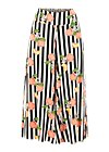 Culotte in fully bloom, pick the peachies, Hosen, Schwarz