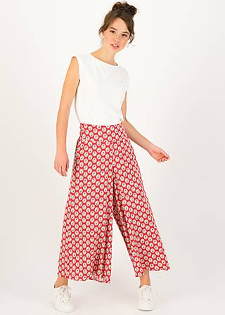 Culotte in fully bloom, ticket to joy, Hosen, Rot