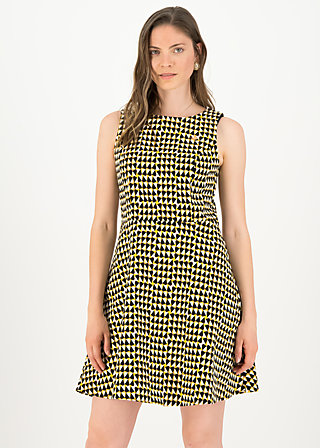 Shift Dress inner harmony, dusty diamond, Dresses, Yellow