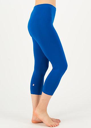 logo 3/4 leggings, bright blue, Leggings, Blue
