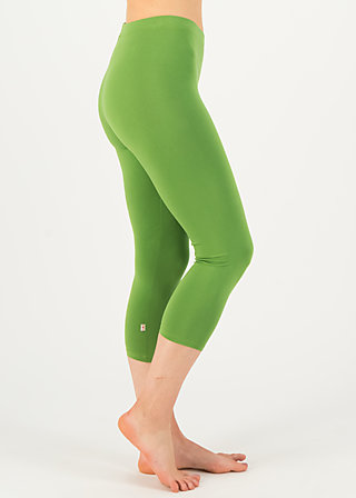 logo 3/4 leggings, clarify green, Leggings, Green