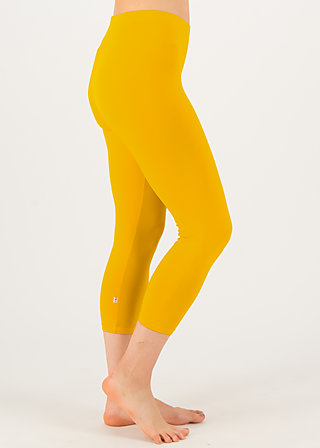 logo 3/4 leggings, healing yellow, Leggings, Gelb