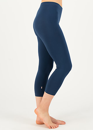 logo 3/4 leggings, pure blue, Leggings, Blau