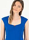 logo top romance, bright blue, Shirts, Blau