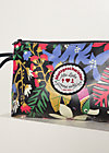 Kosmetiktasche long love washbag, wild night, Accessoires, Schwarz