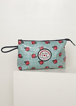 Kosmetiktasche long love washbag, la tendresse, Accessoires, Grün