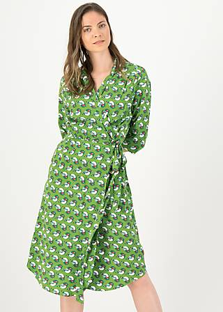 Wrap Dress lucky lola, sing into spring, Dresses, Green