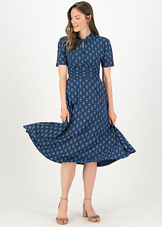 Midi Dress now we are talking, lotus sutra, Dresses, Blue