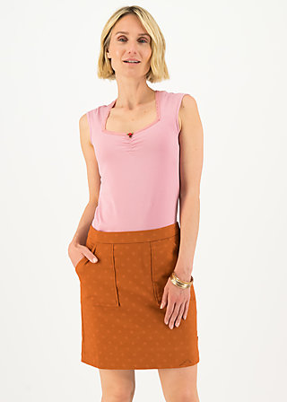 Mini Skirt sack und pack, apri coat, Skirts, Brown