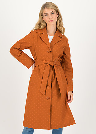 Trench Coat schönwetterwolken, apri coat, Jackets & Coats, Brown