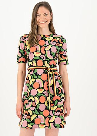 Sommerkleid so frei, smoothie fruits, Kleider, Schwarz