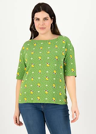 Jersey Shirt start it with a kiss, yellow wellys, Shirts, Grün
