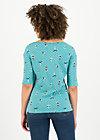 Jersey Shirt start it with a kiss, yoga flowgirls, Shirts, Blau