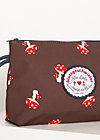 Kosmetiktasche sweethearts washbag, mushroom in the wood, Accessoires, Braun