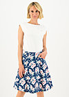 Circle Skirt up and away, bhumi blossom , Skirts, Blue