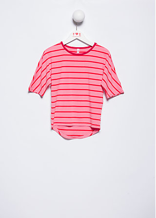 fine day shirty, pink stripes, Shirts, Rosa