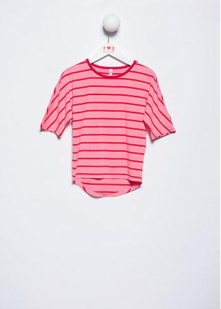 fine day shirty, pink stripes, Shirts, Rosa