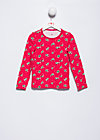 little ladies longsleeve, carries cherries, Shirts, Rot