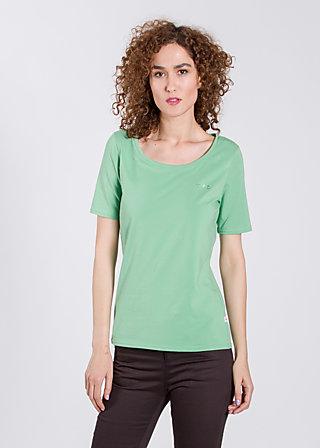 logo roundneck t-shirt, leafy green, Shirts, Grün