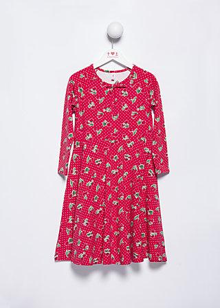 lulu lichterglanz robe, carries cherries, Kleider, Rot